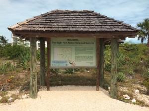 BP Garden Sign