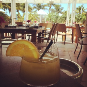 beach house welcome drink