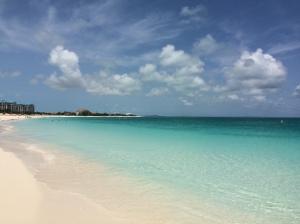 grace bay beach view 1