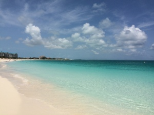 grace bay beach view 1