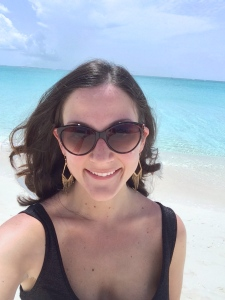 grace bay beach selfie