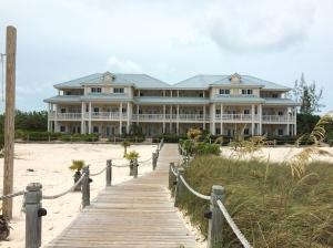 beach house view from ocean